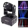 Профессиональный вращающийся сценический светильник 50 Вт RGB светодиодный сценический светильник с 7 контрольными моделями диско-DJ светиль...