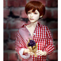 Oueneifs bjd sd bonecas ios aria 1/4 corpo modelo meninos olhos de alta qualidade brinquedos loja figuras resina olhos livres