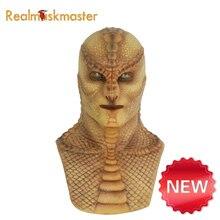 Realmaskmaster Реалистичная силиконовая маска ящерицы на Хэллоуин для мужчин, Вечерние Маски, искусственный Голубь из латекса, Вечерние Маски для взрослых