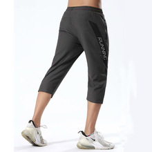 Men's 3/4 Sports Pants Running Shorts Gym Wear Fitness Workout  Tennis Basketball Soccer Training Leggings