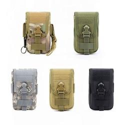 Wielofunkcyjny EDC papierośnica pokrowiec wojskowy Molle tkanina nylonowa Outdoor Tactics duża pojemność telefon komórkowy saszetka biodrowa Camo