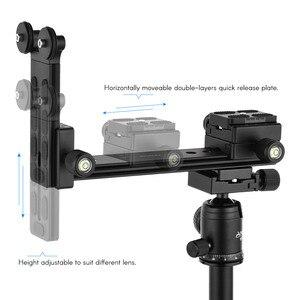 Image 3 - Andoer L200 Telephoto Lens Support Long Lens Holder Bracket Compatible for Arca Swiss Sunwayfoto RRS Benro Kirk Markins Mount