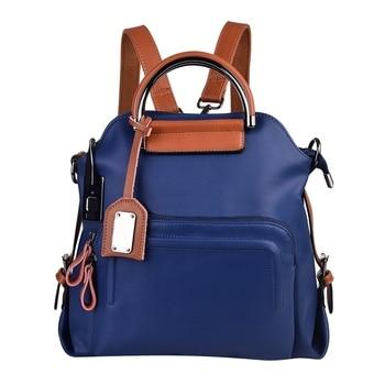 Fashion Handbag for Women L25 Fingerprint Bag Lock Travel Hiking Anti-Theft Cellhone Charging Port 40 Fingerprints
