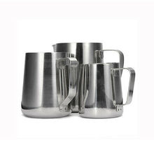 2019 New Stainless Steel Espresso Coffee Pitcher Craft Latte Milk Frothing Jug Mugs 150ml/350ml/600ml/1000ml