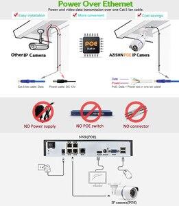 Image 3 - AZISHN 4CH 1080P HDMI 48V POE 2MP NVRระบบกล้องวงจรปิดรักษาความปลอดภัยกลางแจ้ง 720P IPกล้องP2Pการเฝ้าระวังวิดีโอNVRชุด