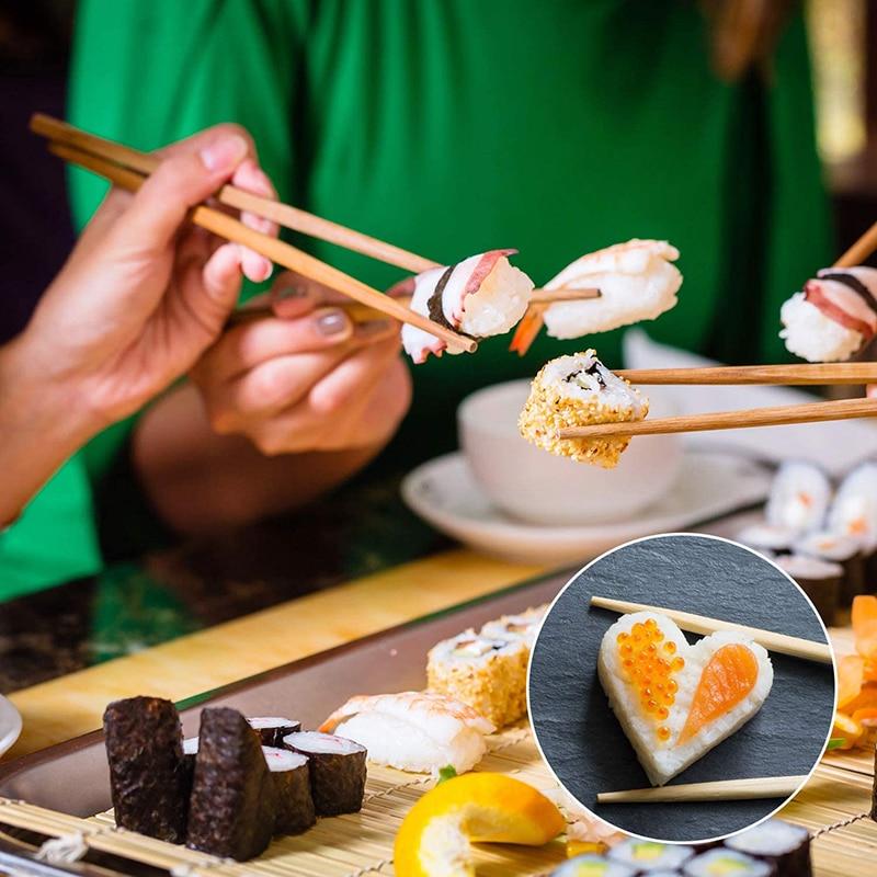 herramienta para hacer sushi s/úper f/ácil juego de herramientas ushi KEISL Juego de sushi de bamb/ú para hacer sushi juego de moldes para hacer sushi