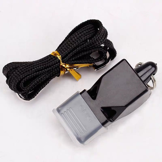 1Pcs Whistle Plastic Fox 40 Soccer Football Basketball Hockey Baseball Sports Referee dedicated Whistle Survival Outdoor Like 1