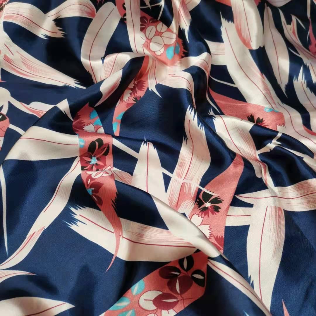 Floral Satin Gewebe Weich Handwerk Satin Tilda Schal Futter Seidig Gedruckt DIY Nähen Band Material