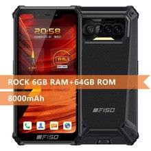 F150 B2021 Robuuste 4G Mobiele Telefoon IP68/69K 6Gb + 64Gb 8000Mah Octa Core smartphone Nfc 5.86 ''Hd + Mediatek Helio G25 13MP Camera