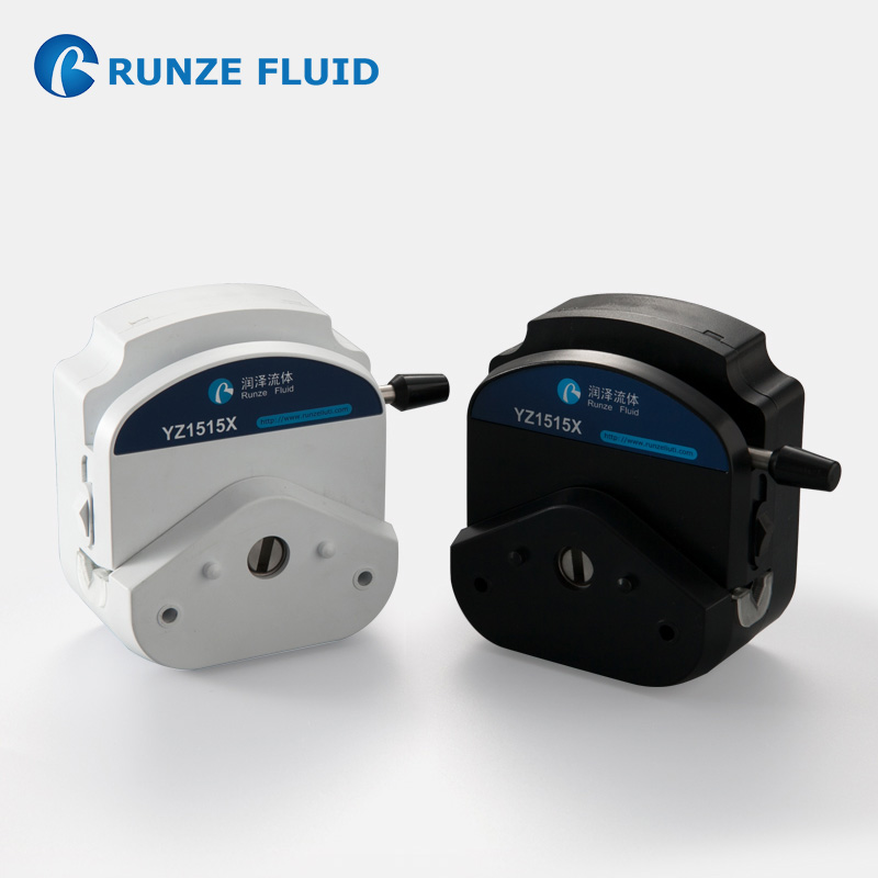 RUNZE Easy Load Peristaltic Pump Head Stainless Steel 3/6 Rollers Fast Tubing Replacement Label OEM Support Easy Disassembly
