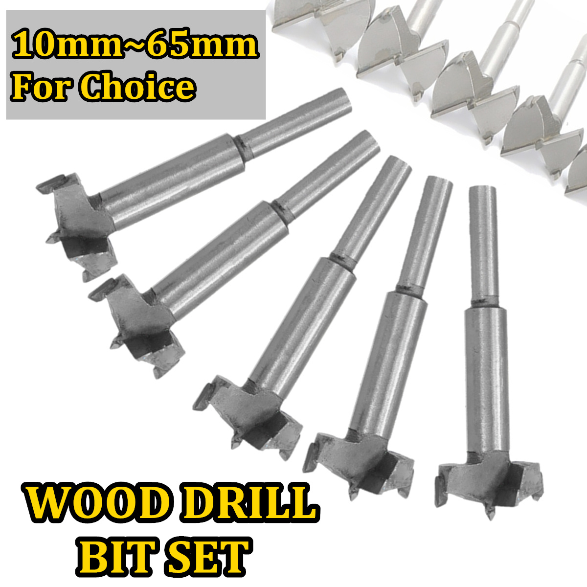 1pcs Forstner Wood Drill Bit Self Centering Hole Saw Cutter Woodworking Tools Set 14mm-65mm Hinge Forstner Drill Bits