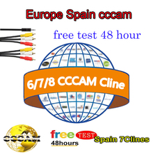 receptores wifi Spain Line CCCam for Freesat V7 Receptor stable Satellite Receiver CCCam server Cline dvb s2 android TV BOX cccam cline europe dvb s2 freesat v7 satellite tv receiver set top box dvb s2 support powervu cccam youporn with usb wifi
