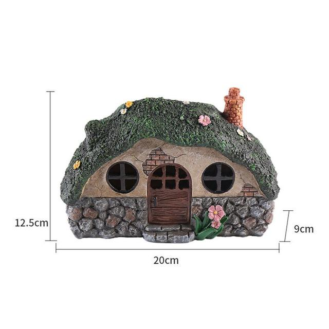 LED Solar Fairy House Light Anti-corrosion Solar Powered Pathway Lights Decorative Outdoor Lawn Yard Lamp For Garden Patio 5