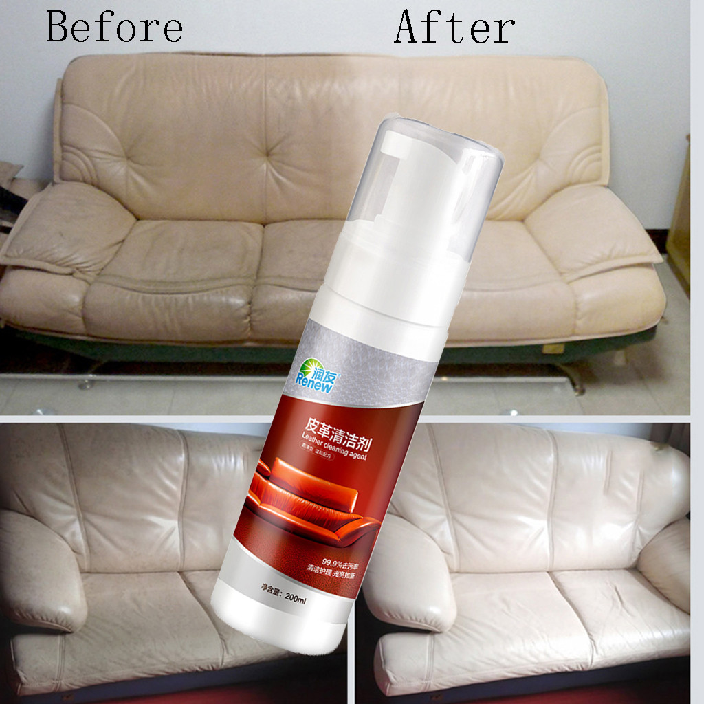 Leather Refurbishing Cleaner Cleaning