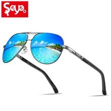 SAYLAYO Fashion Polarized Sunglasses Alloy Frame Mirror Pilot Sun Glasses UV400 Driving Eyewear Oculos Shades for Women