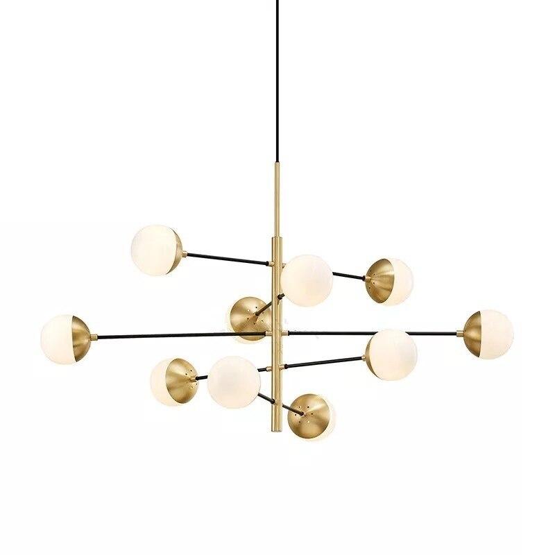 Işıklar ve Aydınlatma'ten Kolye ışıkları'de Modern cam ışıklı Avize İskandinav yemek odası mutfak ışığı tasarımcı asılı lambalar Avize parlaklık aydınlatma Ing endüstriyel lamba title=