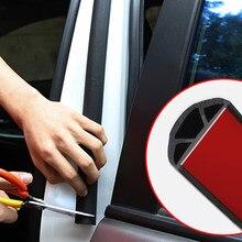 Auto Styling B Säule Dichtung Streifen Aufkleber Schallschutz Wasserdichte Abdichtung Aufkleber Universal Autos Außen Zubehör