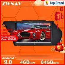 Dokunmatik ekran Android 9.0 araba multimedya oynatıcı mercedes-benz GLK X204 2008-2012 araba GPS Navi ses radyo stereo BT kafa birimi
