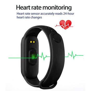 2021 New M6 Smart Watch Men Women Fitness Sports Smart Band Fitpro Version Bluetooth Music Heart Rate Take Pictures Smartwatch 5