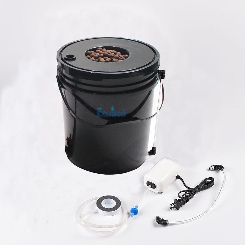 "Pump Air Stone 6/"" Pot,Complete Kit lvl Indicator Aero-Pot DWC 20L Tubing"