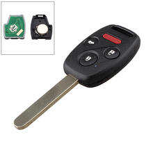 4 Buttons 313.8Mhz PCF7961 chip Complete Remote Key For Honda Civic Ex 2006-2011 Car Fob N5F-S0084A