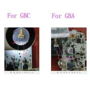Image 5 - 10 סטים עבור Nintendo משחק ילד צבע GBC Frontlit Frontlight מול אור HIghlit Mod ערכת עבור Gameboy Advance GBA