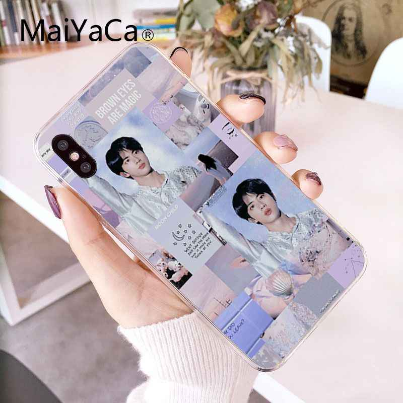 Maiyaca Kpop Euphoria Jungkook Telefoon Case Cover Voor Iphone 11 Pro Max X Xs Max 6 6 S 7 7plus 8 8Plus 5 5S Se Xr 10