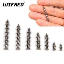 Wifreo 20 шт вольфрамовые бриллиантовые грузила Мягкая наживка