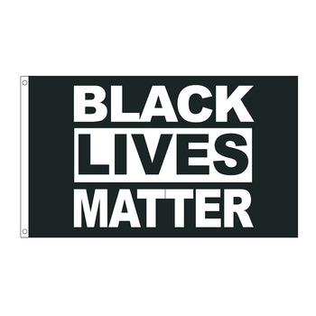 free  shipping  xvggdg  3 By 5 Foot Flag   Black Lives Matter Flag BLM Peace Protest Outdoor Banner flag
