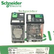 5 шт. реле Schneider RPM22BD RPM22P7 RPZF2 2CO 15A реле+ LTB+ светодиодный 24VDC 230VAC абсолютно новое и оригинальное реле Schneider