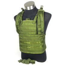 1000D Nylon Taktische Weste mit Brust Rig Military Combat Gear(China)