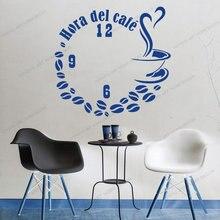 Наклейки на стену кофе виниловые настенные кухонные наклейки
