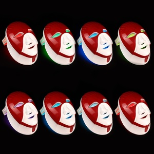 Image 5 - Foreverlily Rechargeable 7 Colors Led Mask For Skin Care Led Facial Mask With Neck Egypt Style Photon Therapy Face Beauty
