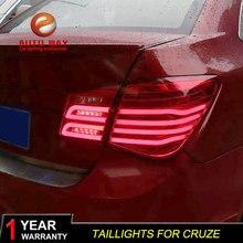 Auto Styling Staart Lamp Case Voor Chevrolet Cruze Achterlichten 2009 2014 Cruze Achterlichten Led achterlicht Achterlicht Led stop Lamp