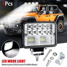 1 шт. автомобильный светильник в сборе 72 Вт светодиодный противотуманный светильник s для мотоциклов Автомобильный светодиодный светильник бар точечные грузовики трактора 26 светодиодный рабочий светильник луч луча