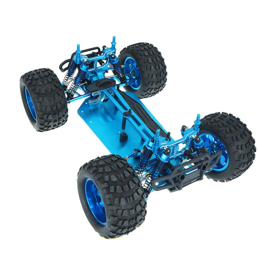El más barato HSP 94111 PRO 1/10 mando a distancia, coche de Metal con cuatro ruedas, camión eléctrico con marco completamente de Metal vacío Maisto 1:12, juguete de motocicleta de aleación de modelo de motocicleta Ninja H2R CBR600RR, motocicleta de YZF-R1, modelos de coche para carreras, coches de juguete para niños