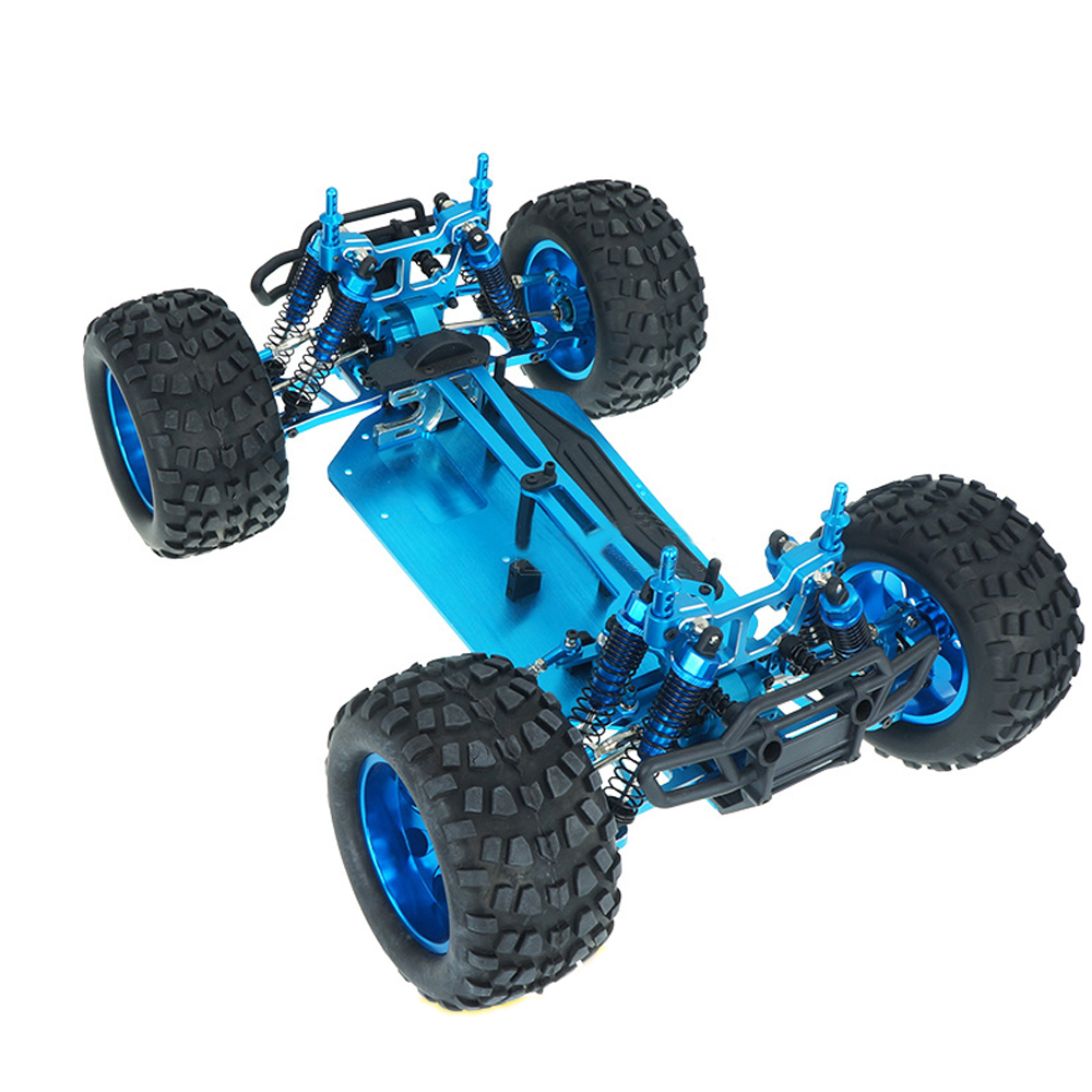 HSP 94111 PRO 1/10 Remote Control Car Metal Four-wheel Drive Electric Truck Full Metal Empty Frame