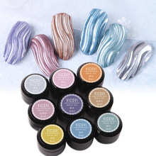 Peinture à ongles 3D, Gel UV acrylique, 9 couleurs, Art de manucure et de pédicure, à faire soi-même, GY35346