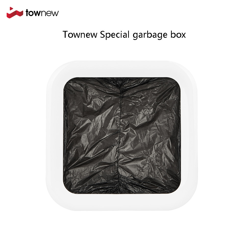 TOWNEW Official Refill Rings For Smart Kitchen Trash Can Durable Garbage Bags Electric Trash Can