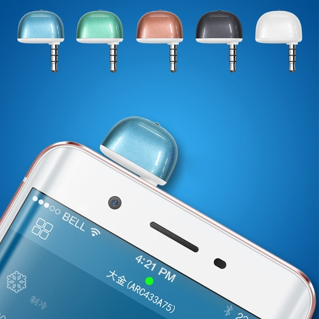 Universel 3.5mm climatiseur/TV/DVD/STB IR télécommande pour iPhone pour Android livraison directe