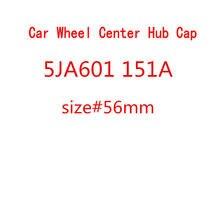 20 pçs/lote 56mm tampas do cubo de roda carro centro capa para octavia fabia excelente rápido yeti 5ja601151a