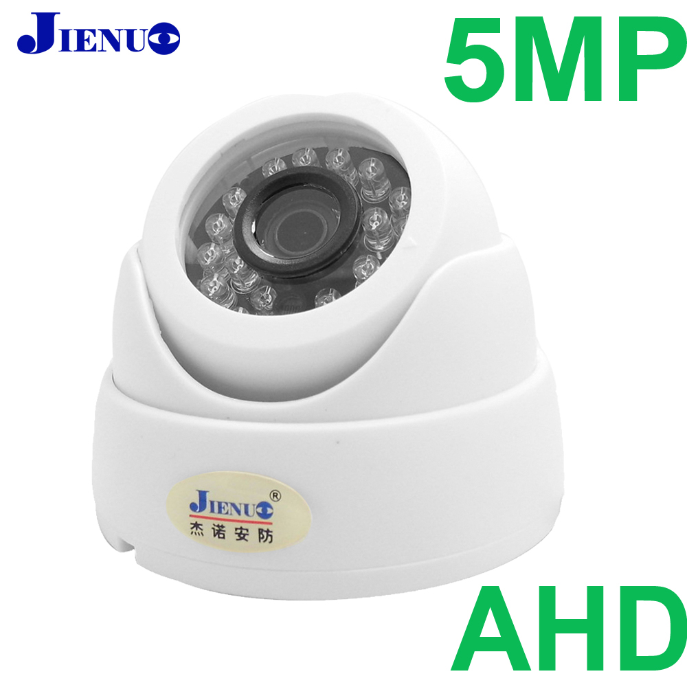 JIENUO 5MP AHD Camera 1080P 720P 4MP HD CCTV Security Surveillance High Definition Infrared Night Vision Support TV Connection