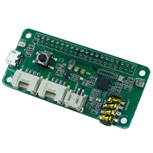 ReSpeaker 2-Mics Pi Hat for Raspberry Pi 4 Model B Voice Module Dual Microphone Array for Raspberry Pi Zero 3B