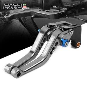 LOGO V-STROM FOR SUZUKI DL1000 V-STROM VSTROM DL 1000 2002-2019 Short Motorcycle Accessories Brake Clutch Levers(China)
