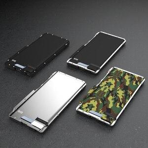 Image 4 - שריון מלך נירוסטה מתכת Flip Case לסמסונג גלקסי הערה 10 10 בתוספת 5G עמיד הלם כיסוי עבור סמסונג הערה 10 5G S10 S9
