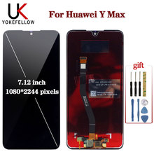 LCD Display For HUAWEI Y Max Touch Screen Digitizer AAA+++ Quality Assembly for Huawei  Replacement