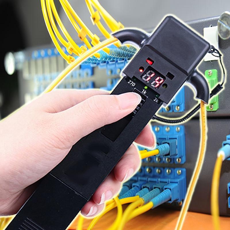 Free Shipping SM And MM Optical Fiber Identifier 800-1700nm Live Fiber Identifier Detector Identificador De Fibra Optica