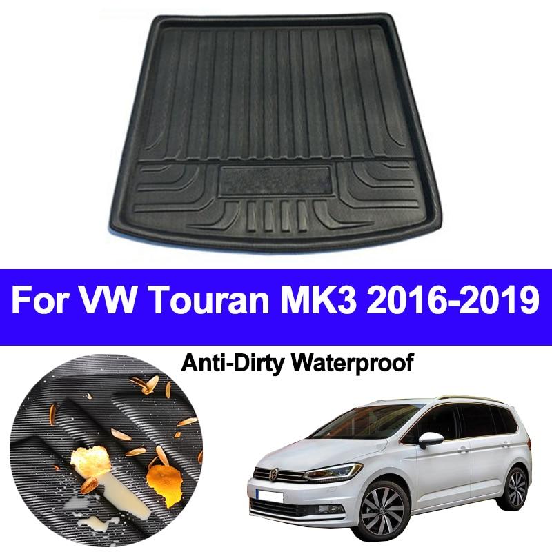 Grey Carpet Insert carmats4u To fit TOURAN 2003-2015 Fully Tailored PVC Boot Liner//Mat//Tray