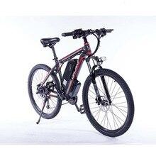 יכול לבחור סמסונג סוללה משודרגת C6 2019 F חשמלי אופני הרי 350/500W צמיג גודל: 26/27.5/29 אינץ אופניים חשמליים עם