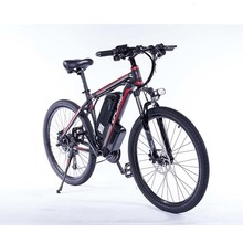 Can choose Samsung battery Upgraded C6 2019 F Electric Mountain Bike 350/500W Tire size: 26/27.5/29 inch Electric Bicycle with
